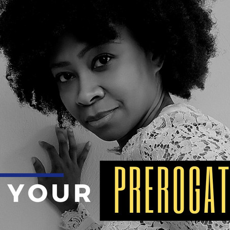 It's Your Prerogative: Tips to Stick to Your Own Terms
