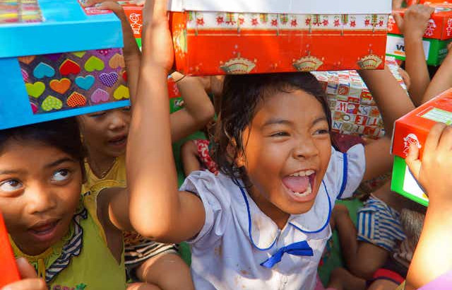 Shoebox Collection Underway for Samaritan's Purse
