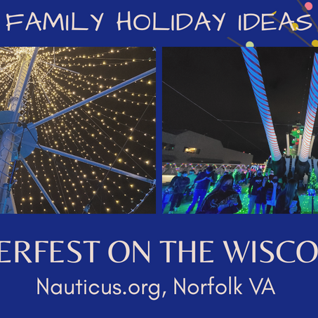 Family Holiday Ideas: Nauticus Winterfest 2020