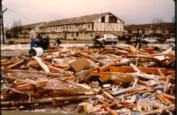 Huntsville Tornado - Structure Damage Naples Fort Myers estero Inspections