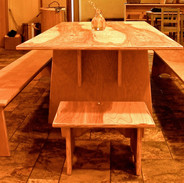 childrens table and benches