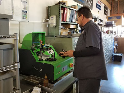 diesel fuel injection pump testing