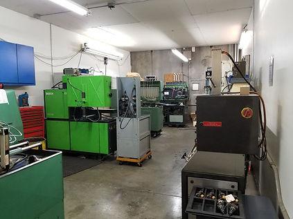 Diesel injection pump calibration