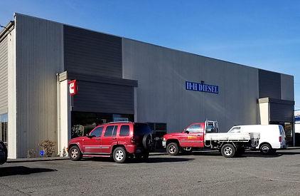 H&H Diesel Truck Repair Shop Front