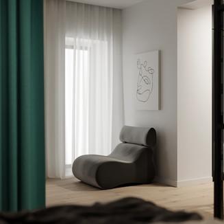 Вид із спальні