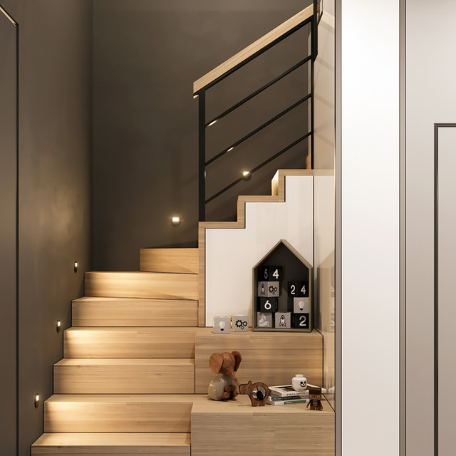 Hallway with stair | view 2