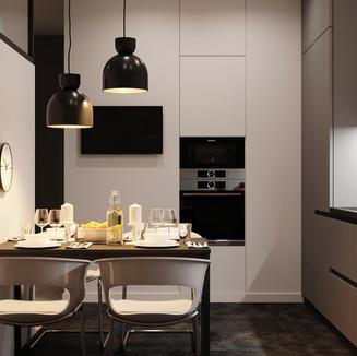 Сучасний інтер'єр кухні