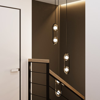 Hallway with stair | view 3