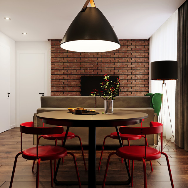 kitchen01 fireplace 2_fin red chairs_Cor