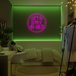 RGB підсвітка дівчачої спальні (1)