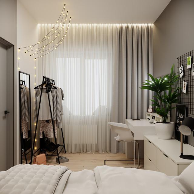 Cozy teen bedroom