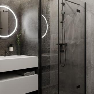 Сучасна душова кабіна у ванній