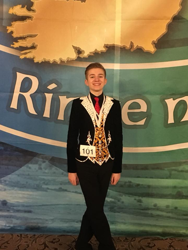connor all irelands 8th place 2018