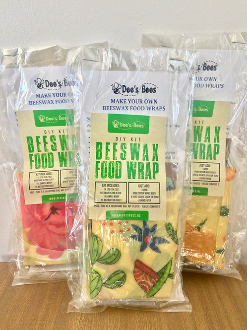 DIY Beeswax foodwrap kit