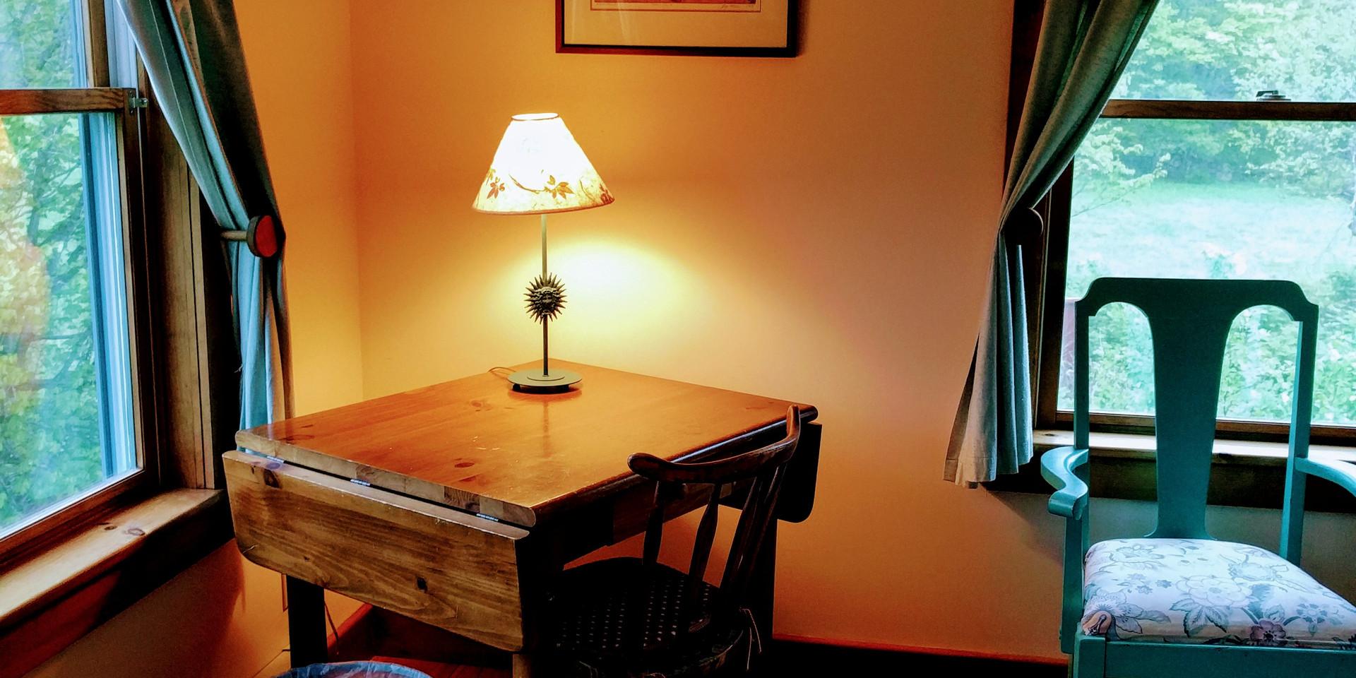 Cozy Corner in Twin Room