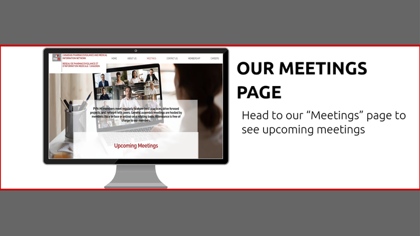 Our Meetings Page