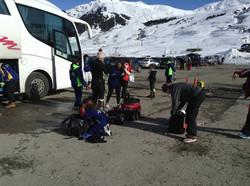 Zimas esquí Club Reyes 2015