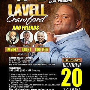 Comedy All Star Stand Up For The Troops featuring Lavell Crawford