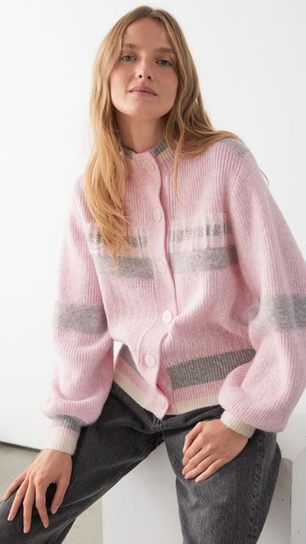 Relaxed Ribbed Cardi