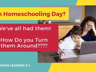Rough Homeschooling Day?
