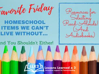 Favorite Friday: Resources for Selecting Read-Alouds! (And Audiobooks)