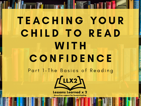 Teach your Child to Read With Confidence!
