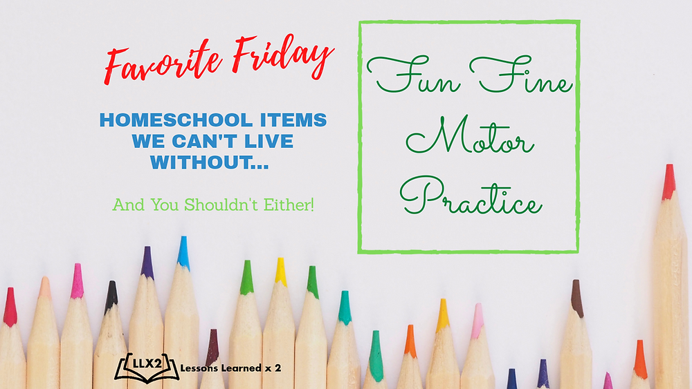 fine motor skill practice for kids, homeschoolers using a LCD writing tablet