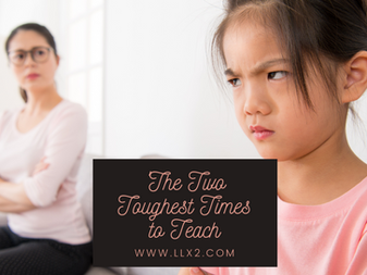 The Two Toughest Times to Teach