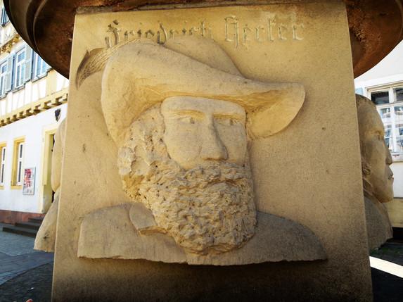 Freiheitsdenkmal Sinsheim Friedrich Hecker