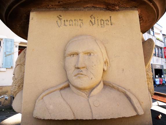 Freiheitsdenkmal Franz Sigel