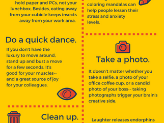 10 Creative Steps to Beat Workplace Stress