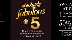 Luxent Hotel: Absolutely Fabulous at 5!