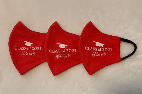 Combo 19 Aloha is Love Graduation (Red Mask/White Ink)