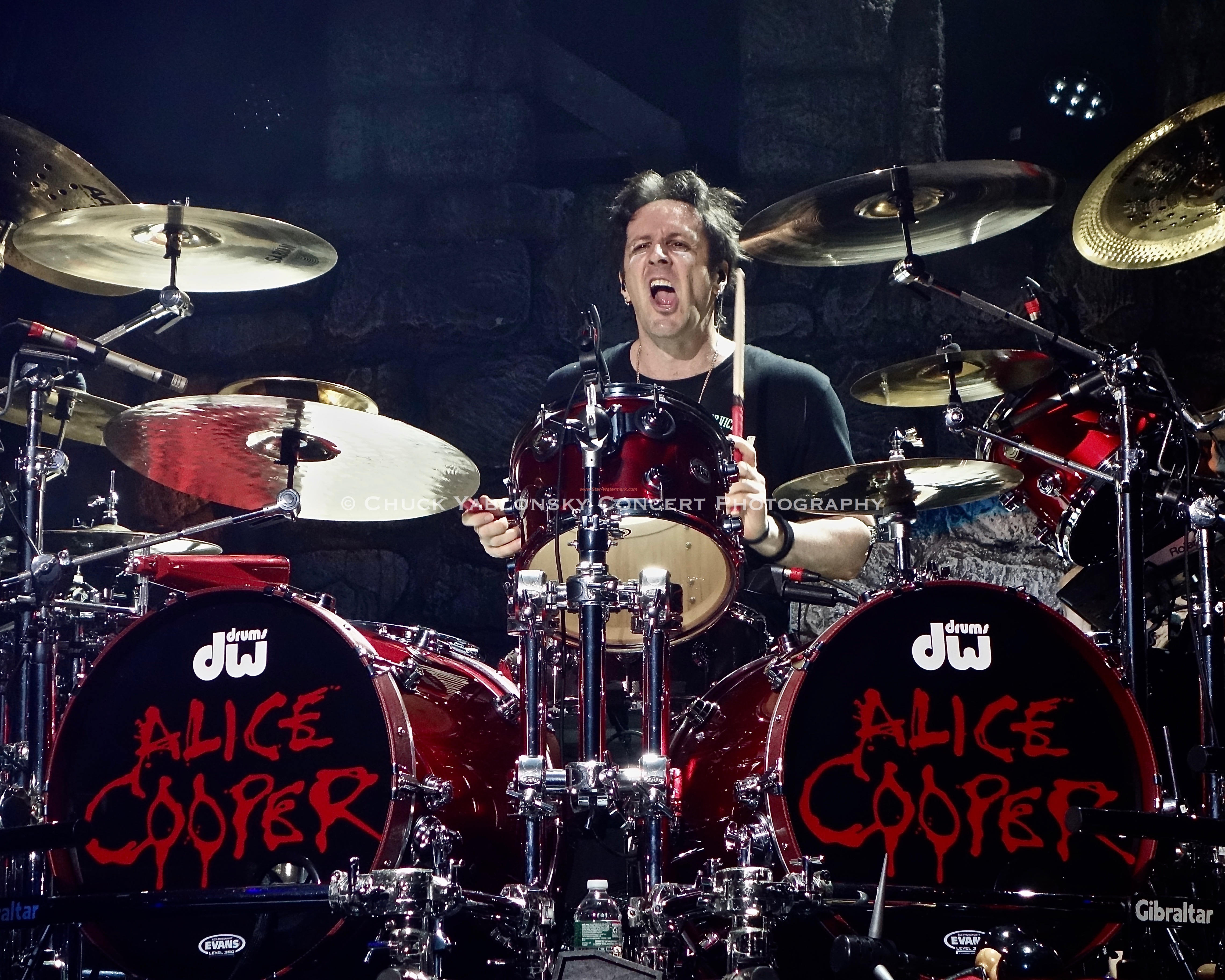 Glen Sobel - Alice Cooper Band