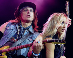 Ryan Roxie & Nita Strauss - Alice Cooper Band