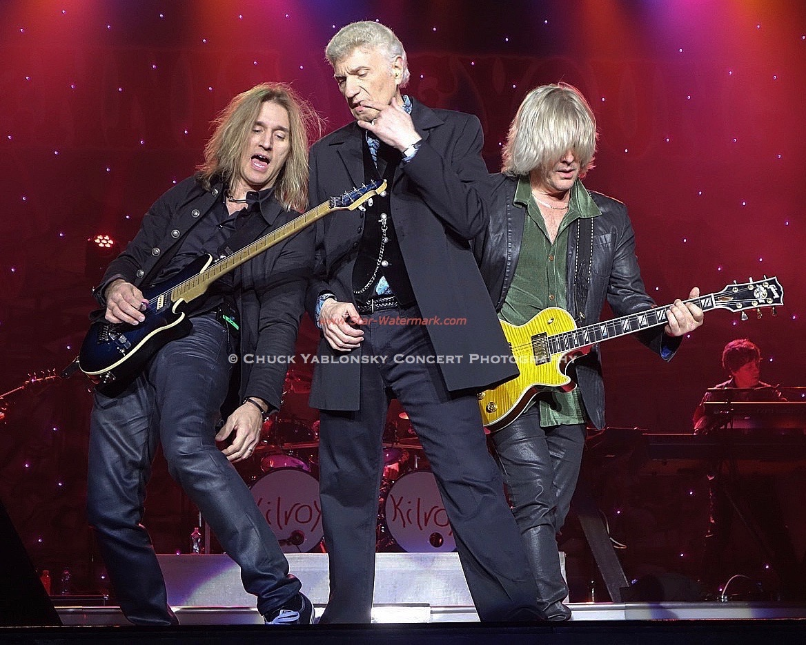 August Zadra, Dennis DeYoung & Jimmy Leahey