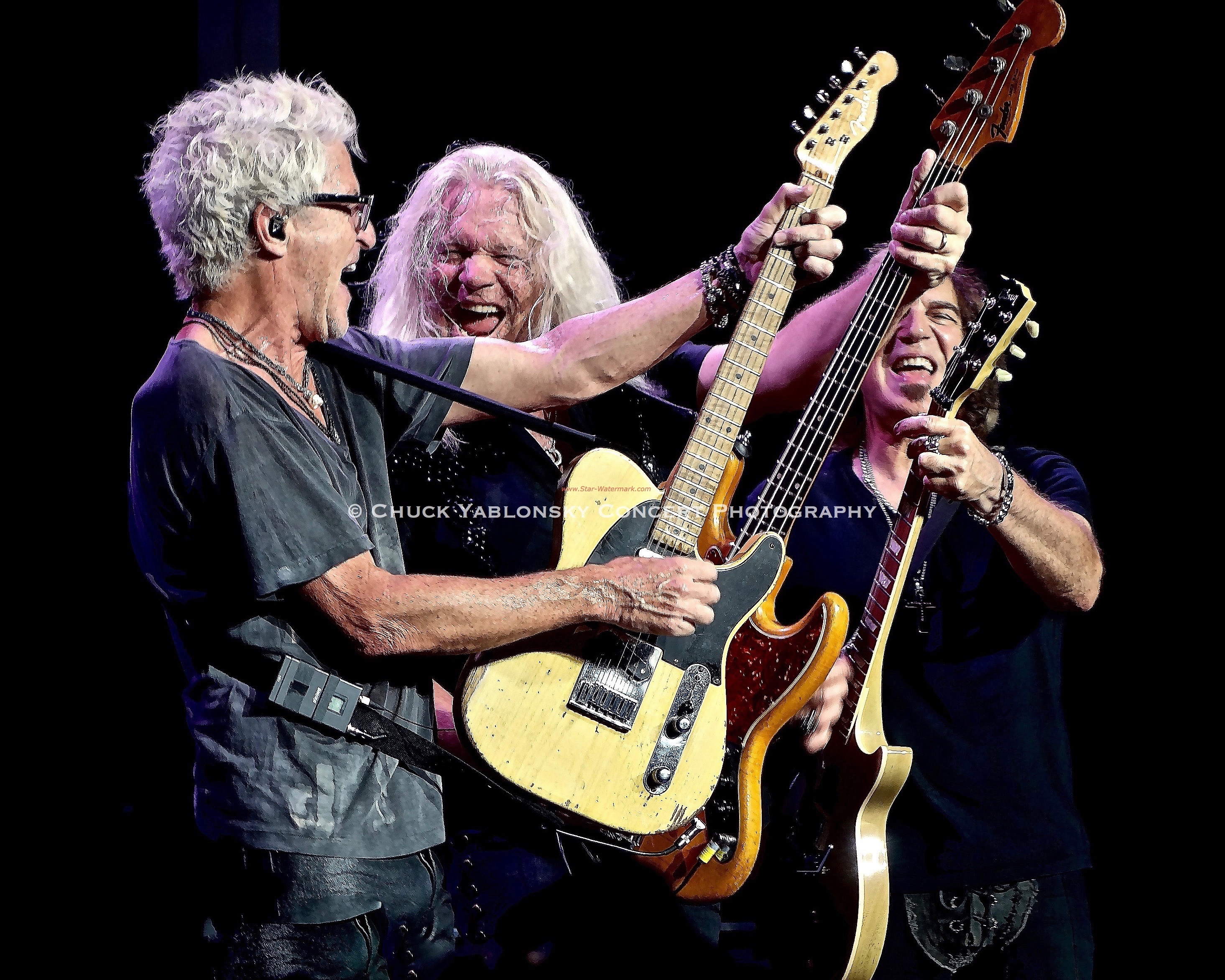 Kevin Cronin, Bruce Hall & Dave Amato - REO Speedwagon