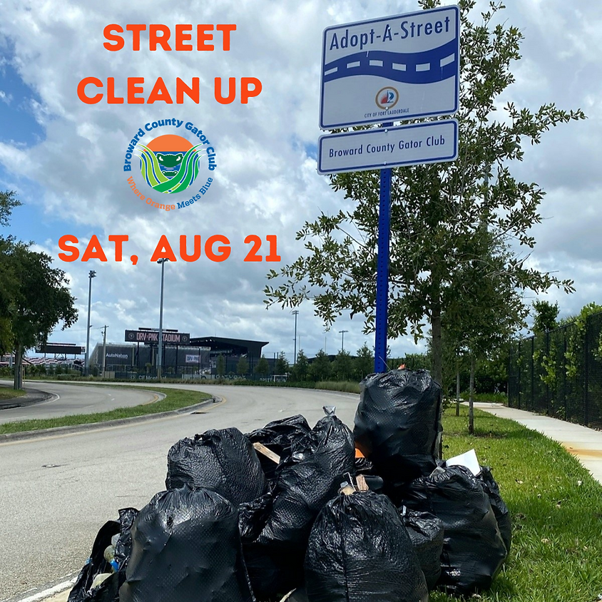 August Street Clean Up