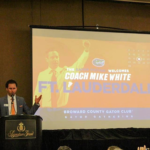 Gator Gathering with Coach Mike White