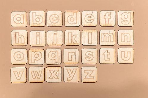 Lowercase Alphabet Tiles