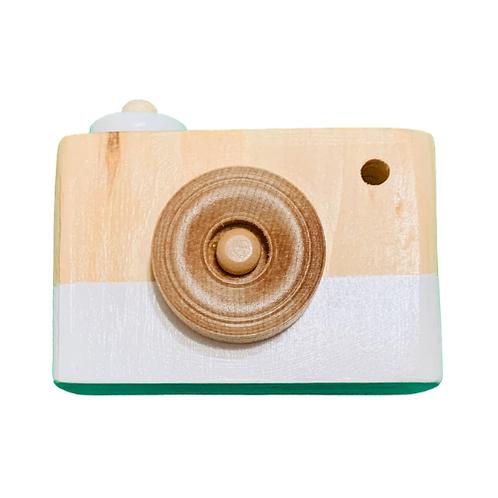 White Wooden Camera