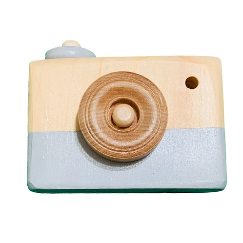 Gray Wooden Camera