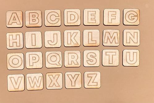 Uppercase Alphabet Tiles