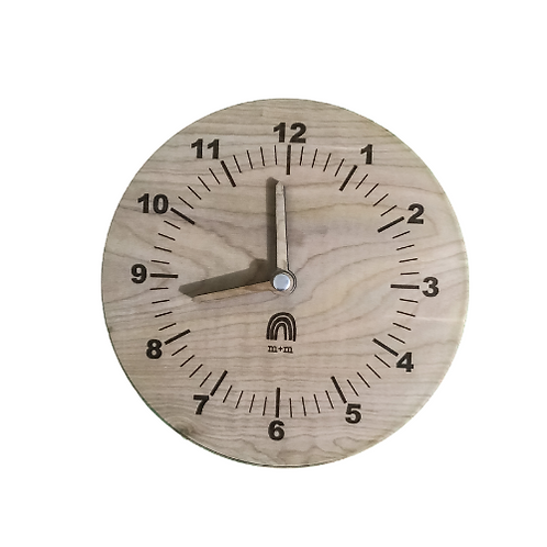 Wooden Play Clock