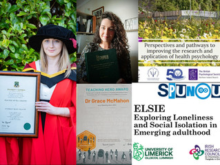 A year in review: A round-up of our activities here in SASHLab over the academic year 2020/21!