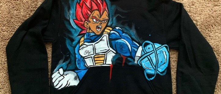Custom Vegeta Energy