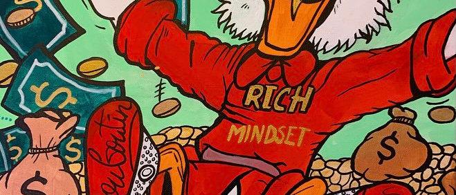 Rich Mindset Standard Print (8x10) Gloss