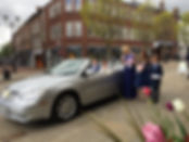 Wedding cars macclesfield