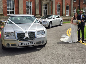 Baby Bentley wedding car