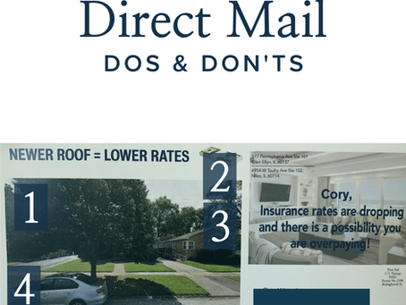 Four Direct Mail Dos and Don'ts
